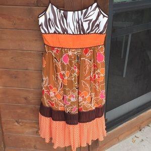 BCBG Paris Safari Dress 6
